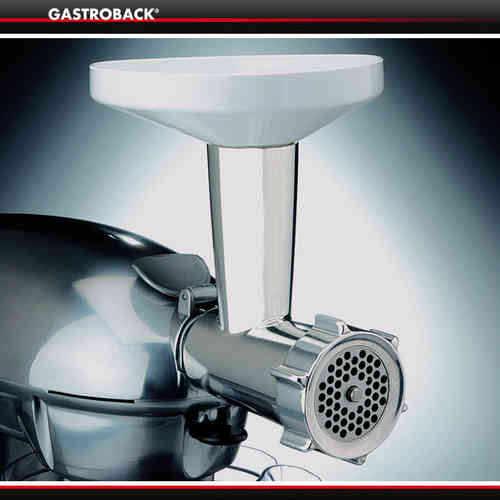 Gastroback - Meat Grinder incl. Cookie Attachment