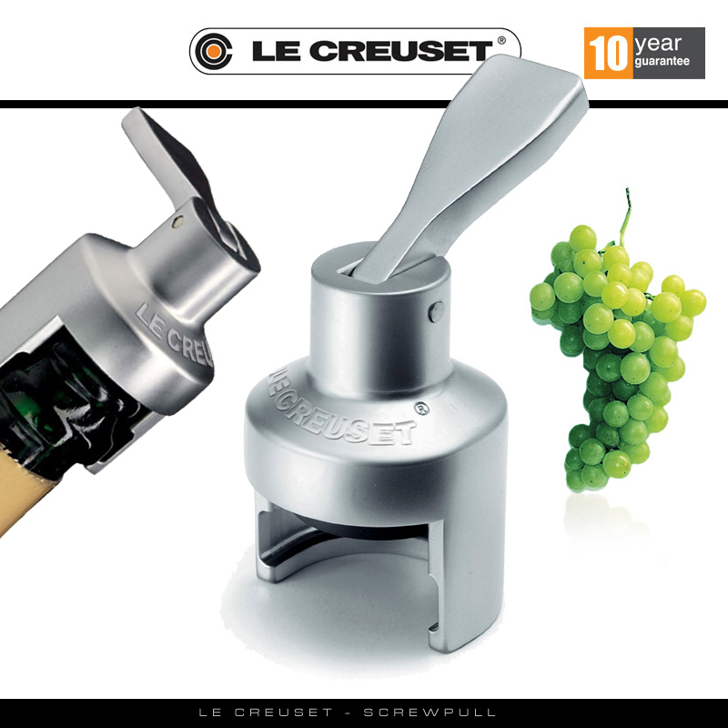 Le creuset champagne stopper