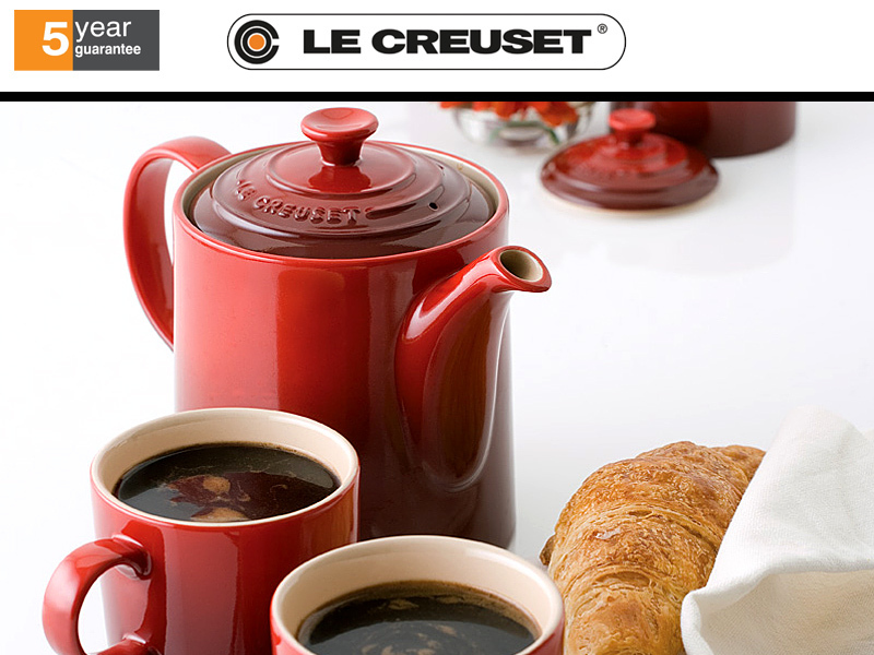 le creuset klassische kanne hoch culinaris. Black Bedroom Furniture Sets. Home Design Ideas
