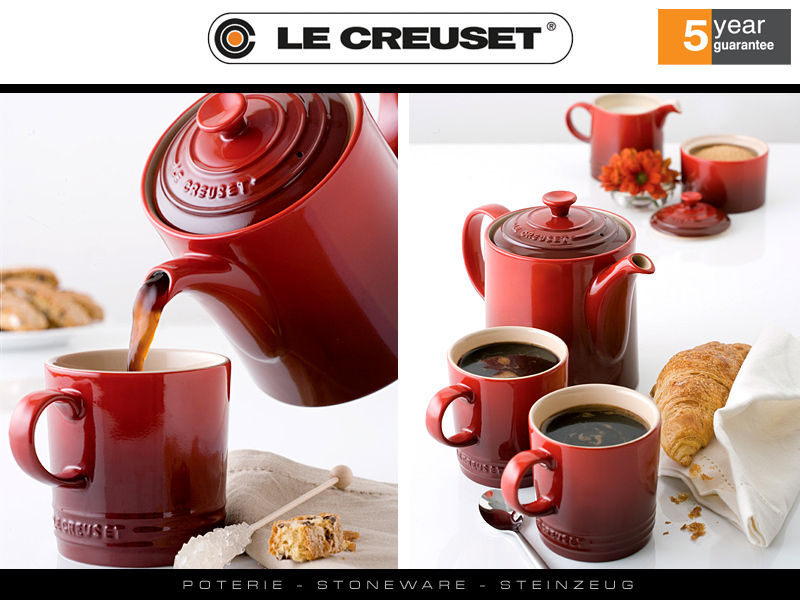 le creuset grand teapot coffeepot cookfunky we make you cook better. Black Bedroom Furniture Sets. Home Design Ideas
