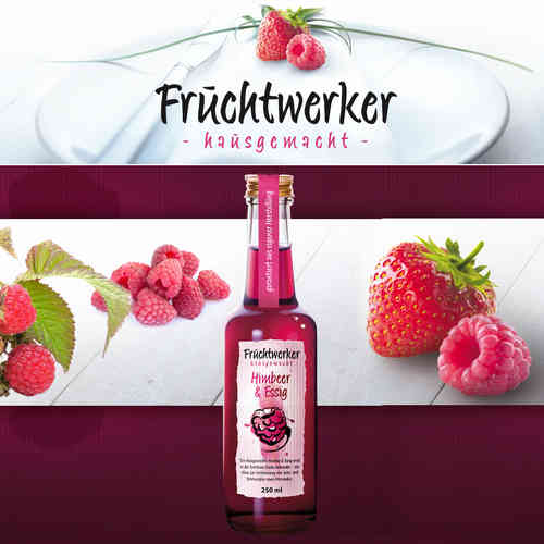 Fruchtwerker - Fruit Vinegar Rasberry & Vinegar