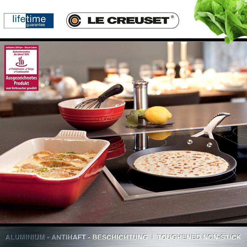 le creuset cr pes pfanne 24 cm culinaris k chenaccessoires. Black Bedroom Furniture Sets. Home Design Ideas