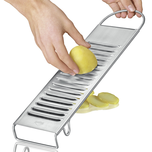 Potato slicer for potato salad or baked potatoes only for waxy