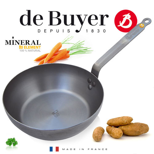 de Buyer - runde Landpfanne - Mineral B Element