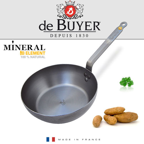 de Buyer - runde Landpfanne 24 cm - Mineral B Element