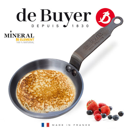 de Buyer - Blinis-Pfännchen 12 cm - Mineral B Element