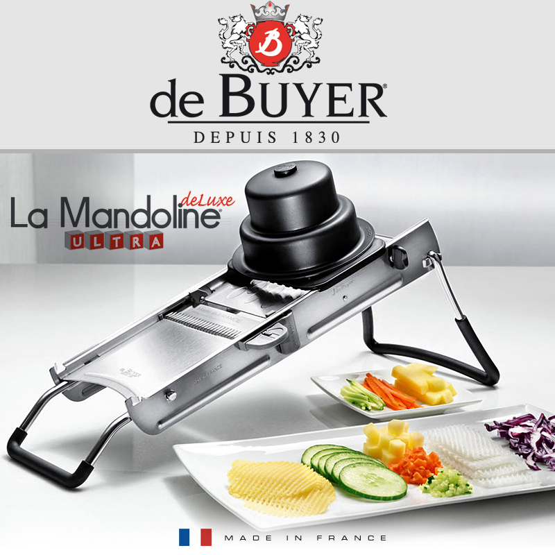 De buyer mandoline ultra deluxe cookfunky - Mandoline cuisine de buyer ...