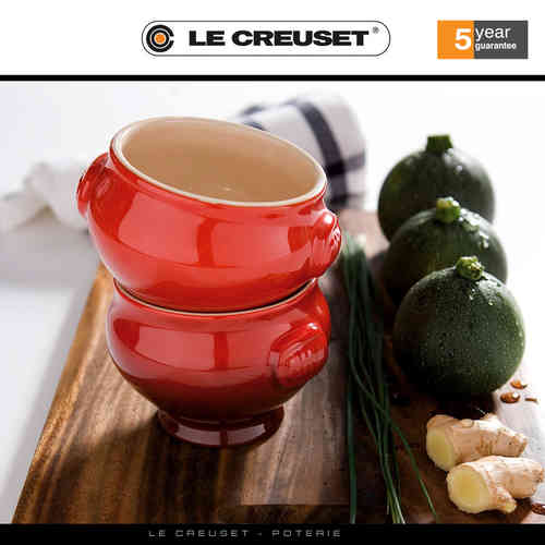 Le Creuset - Suppenterrine 0,6 L - 2er Set