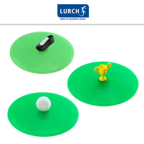 "LURCH Glass Lid ""Football"""