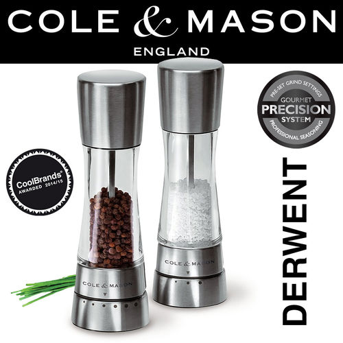 COLE & MASON - Derwent Pepper or Salt Mill