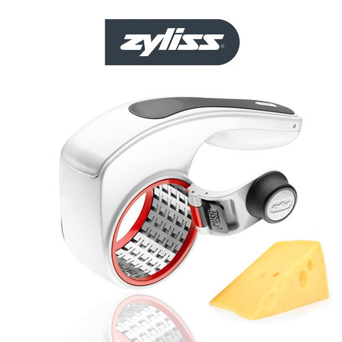 ZYLISS - Rotary Cheese Grater with 2 drums