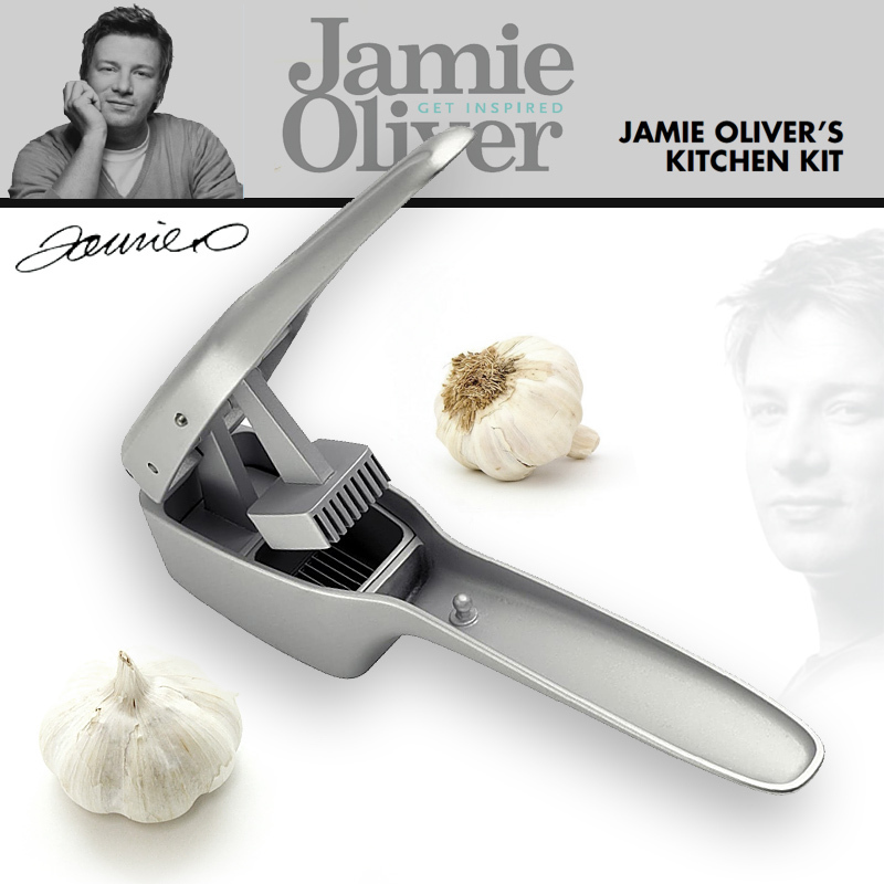 jamie oliver knoblauchpresse culinaris k chenaccessoires. Black Bedroom Furniture Sets. Home Design Ideas