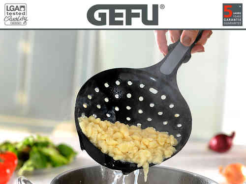 Gefu - Spaetzle spoon with scraper