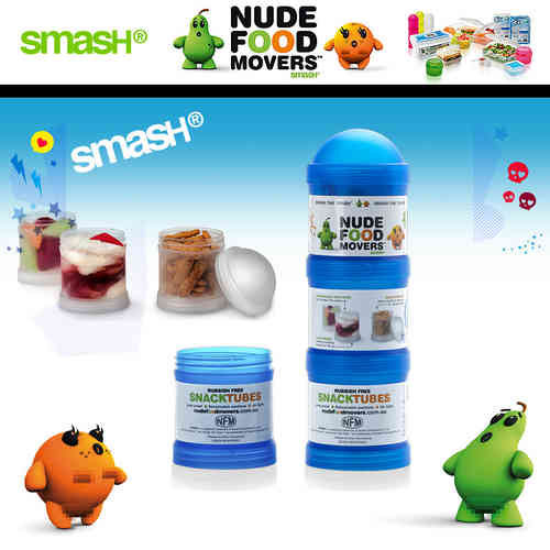 Smash - Nude Food Movers - Snackrolle 3er
