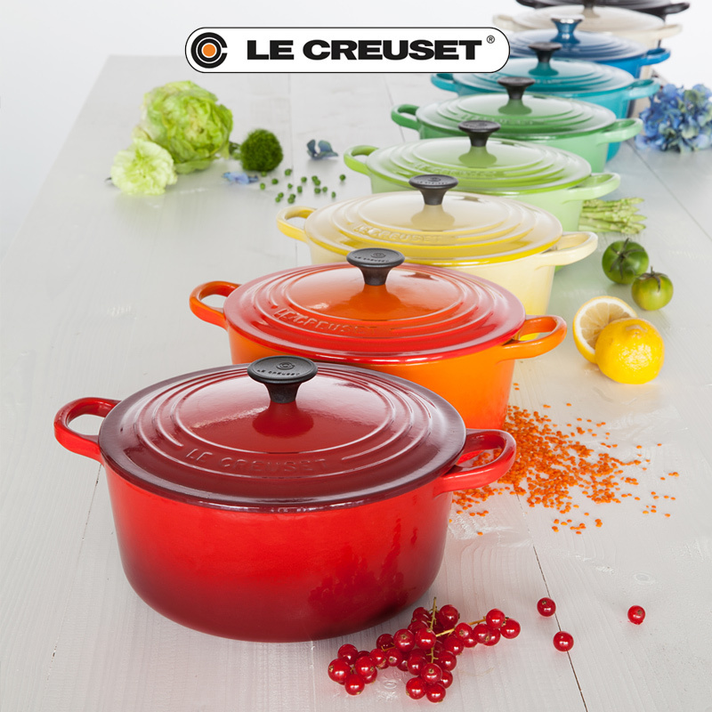 le creuset br ter rund 28 cm culinaris k chenaccessoires. Black Bedroom Furniture Sets. Home Design Ideas