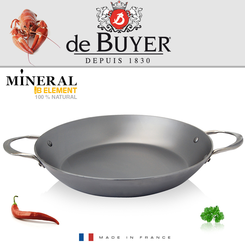 de Buyer - Paella Pan 32 cm - Mineral B Element - Cookfunky