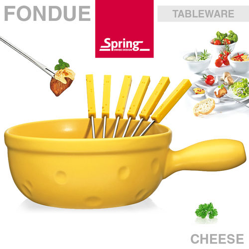 Spring - Fondue Caquelon Eco Cheese