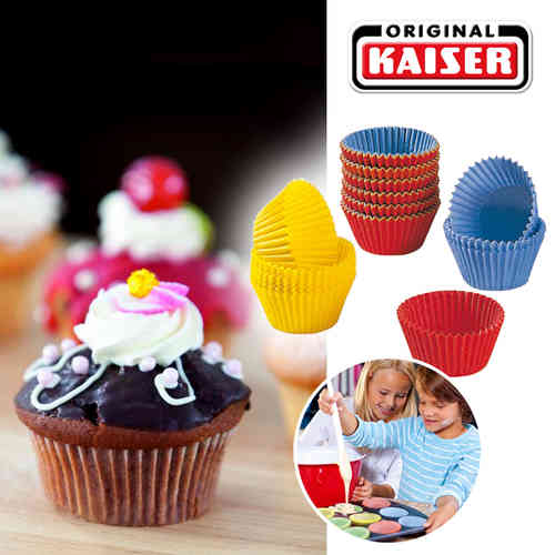 Kaiser - 150 muffin paper cups for mini muffins