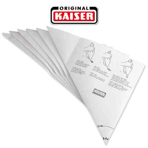 Kaiser - Disposable icing bags, 6 pieces