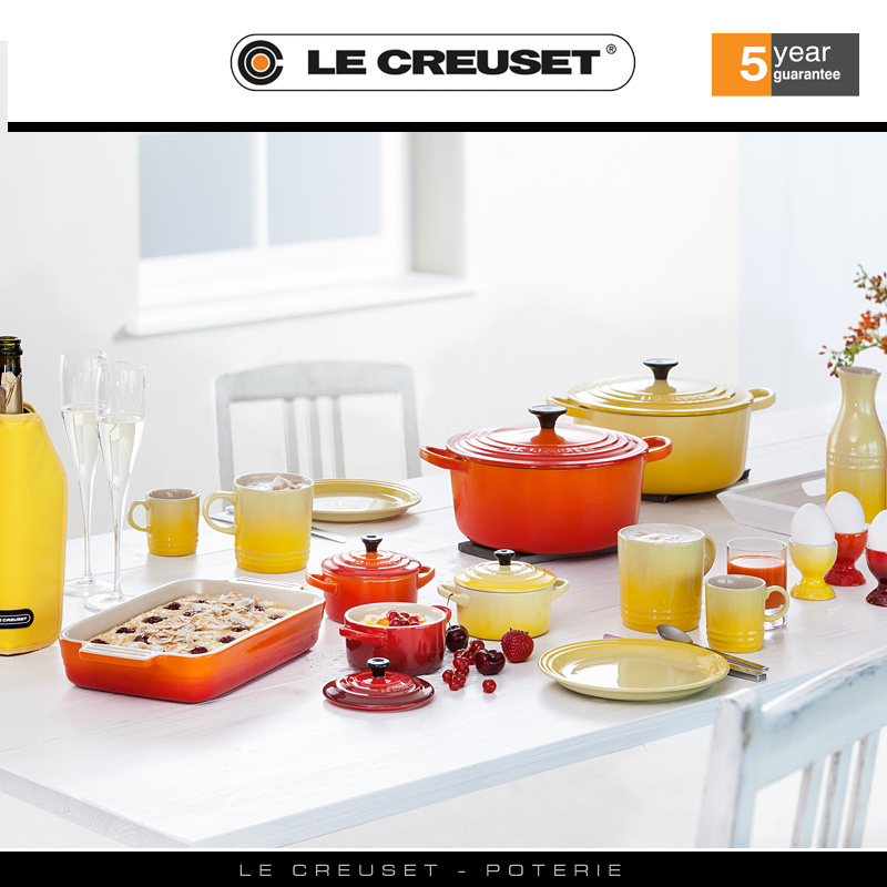 le creuset auflaufform rechteckig 24 x 32 cm kirschrot. Black Bedroom Furniture Sets. Home Design Ideas