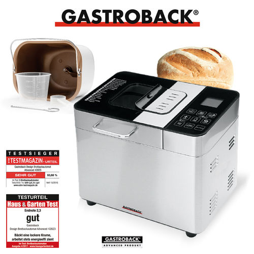 Gastroback - Design Brotbackautomat Advanced