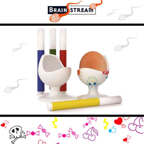 Brainstream - EggChair - Kreativset DIY