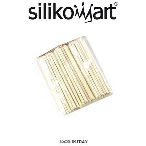 Silikomart - 50 WHITE STICKS FOR EASY POP