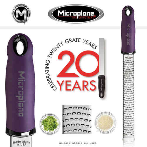 Microplane - Zester Reibe - lila
