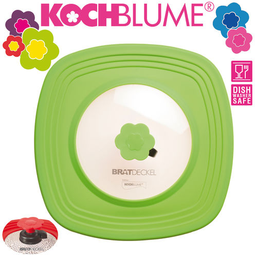 Kochblume - square Smart Lid with Auto-Release Valve 33 cm