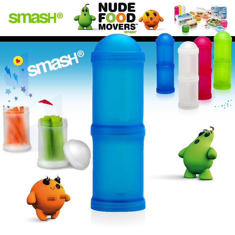 Smash - Nude Food Movers - Snack Tubes Double