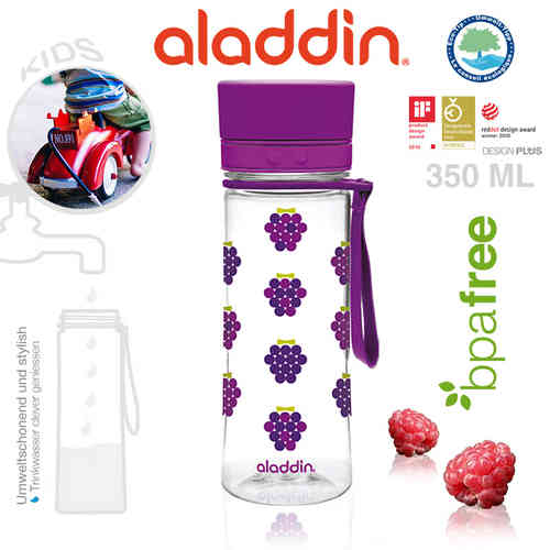 aladdin - Aveo Trinkflasche - Kids Purple 350 ml