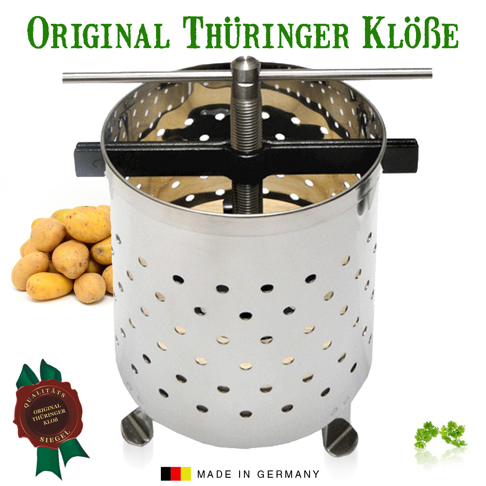 Original Thüringer Kloßpresse groß - Made in Germany