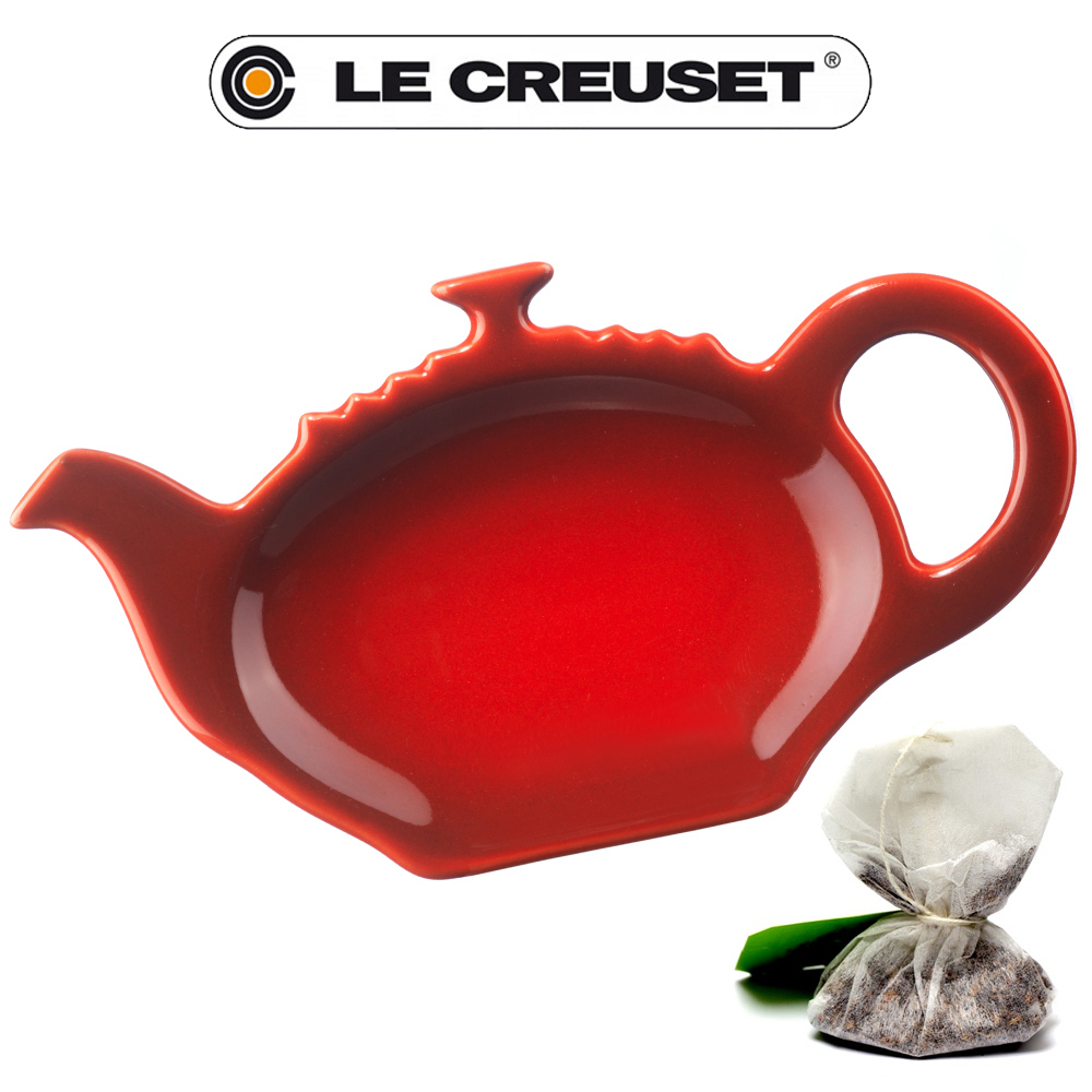 le creuset teebeutelablage culinaris. Black Bedroom Furniture Sets. Home Design Ideas