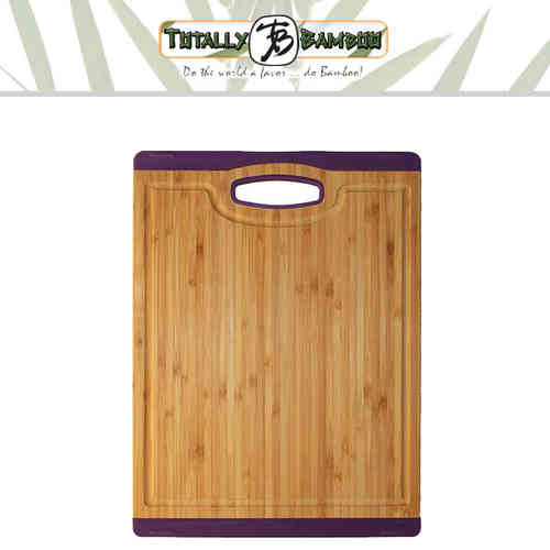 Totally Bamboo -  Schneidbrett Colors - mittel - violett