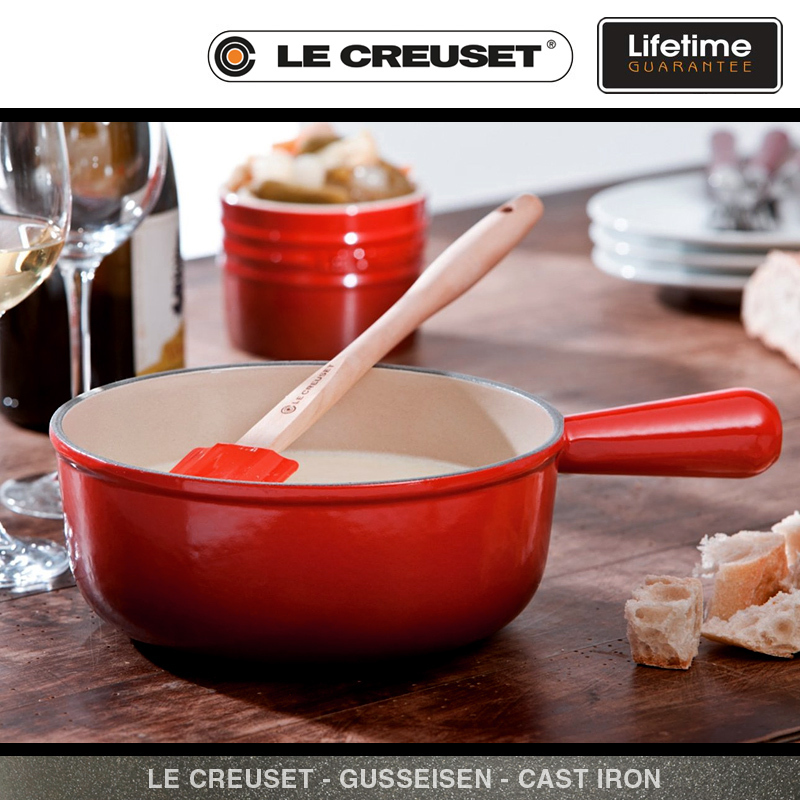 le creuset caquelon 22 cm kirschrot culinaris. Black Bedroom Furniture Sets. Home Design Ideas