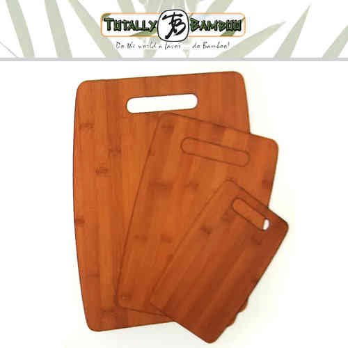 Totally Bamboo - 3er-Set Schneidbretter