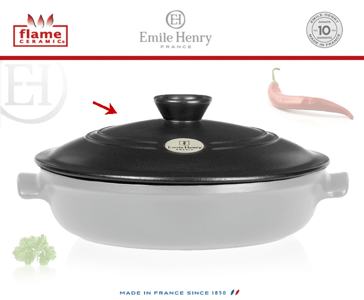 Emile Henry - Braiser Replacement Lid Ø 30 cm - Cookfunky