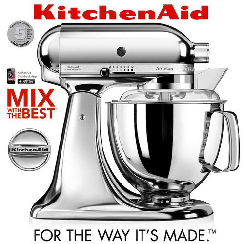 KitchenAid - Artisan Stand Mixer 5KSM175PS - Chrome