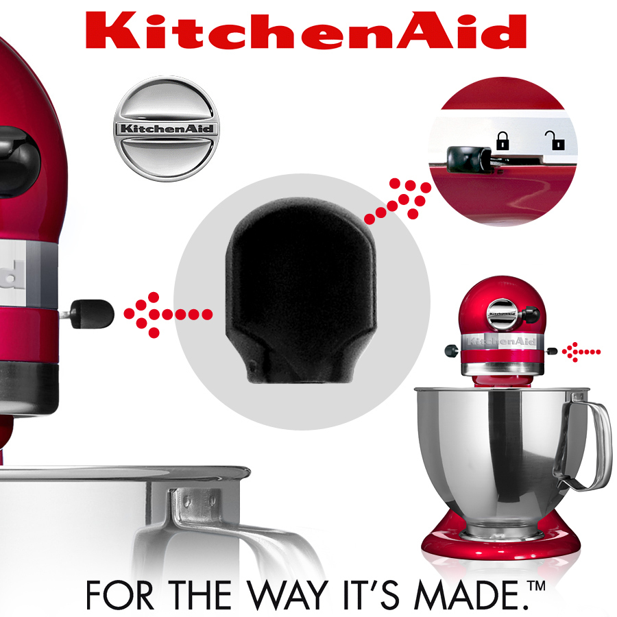 Kitchenaid Plastic Handle For Unlock The Stand Mixer Cook