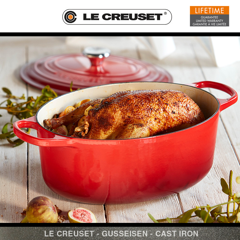 le creuset signature br ter oval 29 cm culinaris. Black Bedroom Furniture Sets. Home Design Ideas
