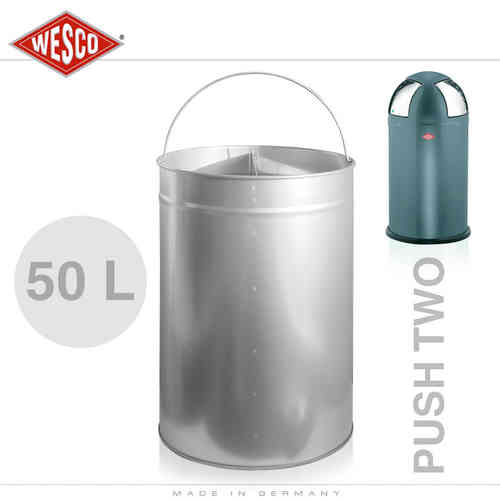 Wesco - Insert 50 Litre Metal - Push Two