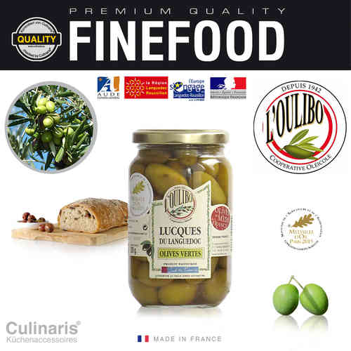 Culinaris - L'Oulibo Olive green - Lucques Nature 380 g