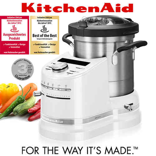 KitchenAid - Artisan - Cook Processor - Frosted Pearl