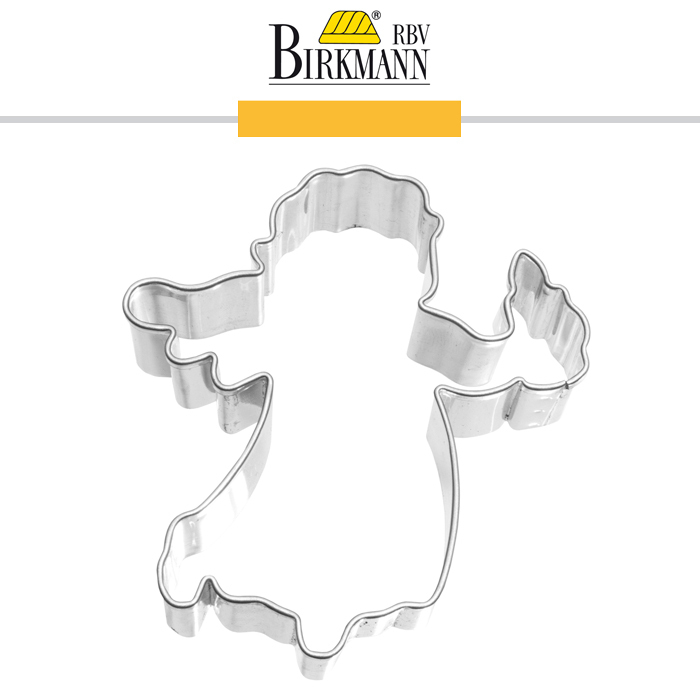 Rbv Birkmann Cookie Cutter Angel With Candle Cookfunky