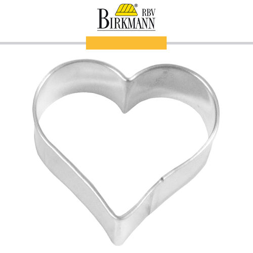 RBV Birkmann - Cookie cutter Heart 4,5 cm