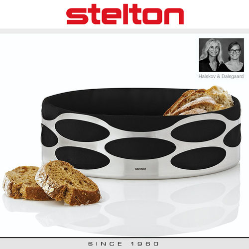 Stelton - Embrace Bread Tray - Black