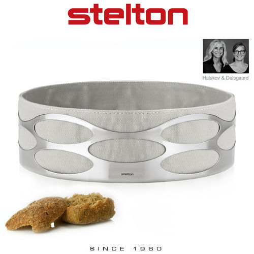 Stelton - Embrace Brotschale - Chalk