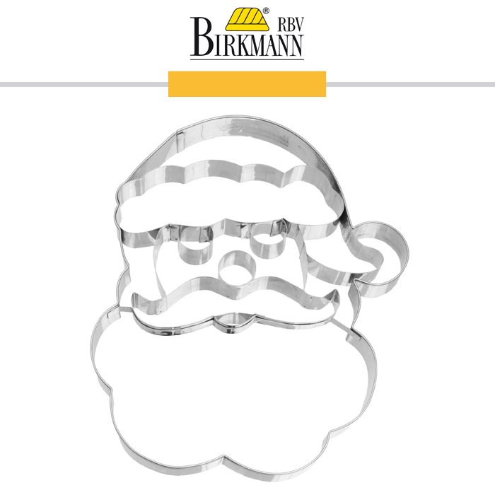 Rbv Birkmann Cookie Cutter Santa Face 18 5 Cm