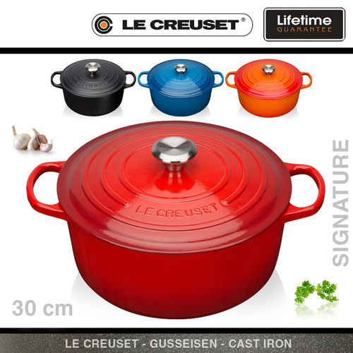 le creuset signature br ter rund gusseisen kochgeschirr. Black Bedroom Furniture Sets. Home Design Ideas