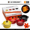 Le Creuset - Set of 4 Petite Casseroles - Fire & Flame